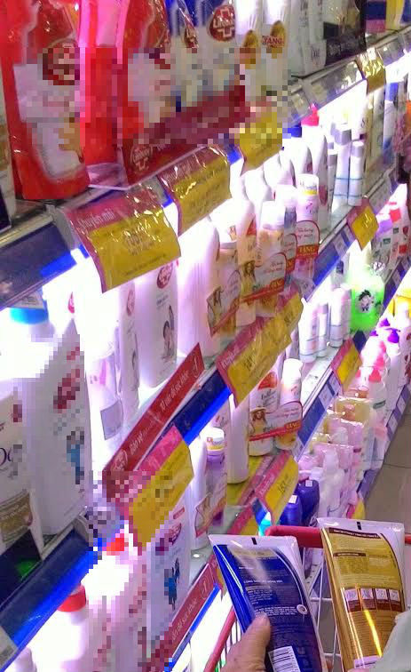 Mỹ phẩm chứa chất gây ung thư vẫn bán trên thị trường