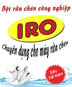 Bột rửa chén IRO
